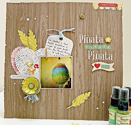 Gotta Craft Shop Blog: Pretty Party and a Pinata by Sian