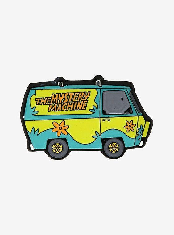 Scooby Doo Mystery Machine Enamel Pin Scooby Doo Mystery Scooby Doo Enamel Pins