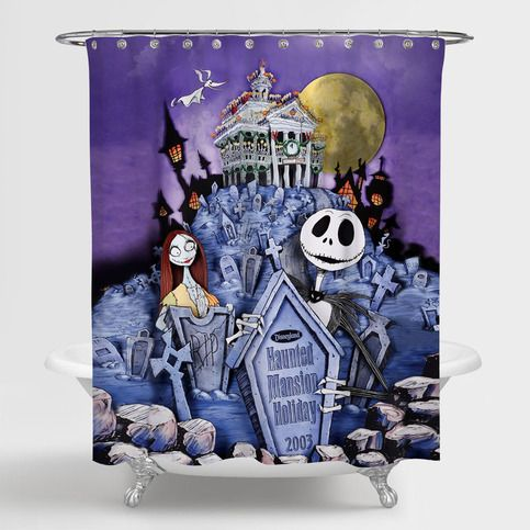 The Nightmare Before Christmas Disneyland Haunted Mansion Custom