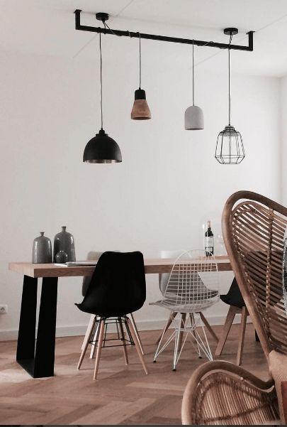 Handgemaakt, Uniek, Eigentijds en Eigenwijs. Dat is de Industriële Lightbar van Loftdeur.nl. Op maat gemaakt voor een prijs die je mond doet openvallen!: