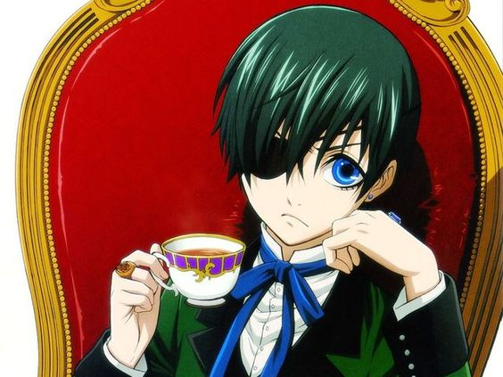 I got: Ciel Phantomhive! What Black Butler Character is Your BFF?
