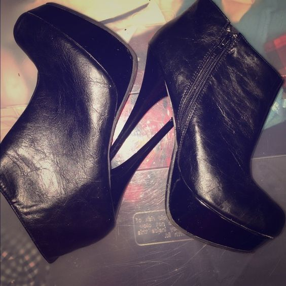 Black ankle boots Black ankles boots Shoes Ankle Boots & Booties