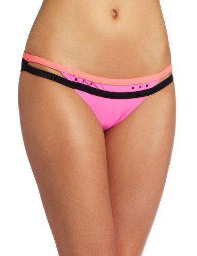 Bikini Lab Juniors Kings Of Neon Hipster Bikini Lab. $30.00. Cut outs. Studs. 82% Nylon/18% Spandex. Made in Indonesia. Hand Wash