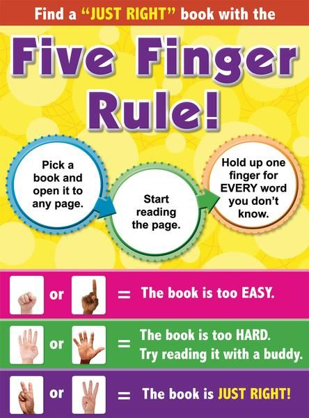 """reciprocal reading - choosing a """"Just Right"""" Book"""