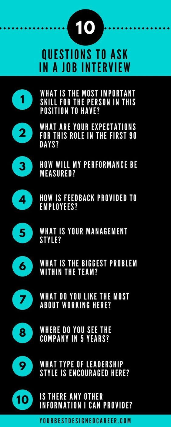 10 Questions To Ask In A Job Interview Job Interview Questions Job Advice Job Interview Tips