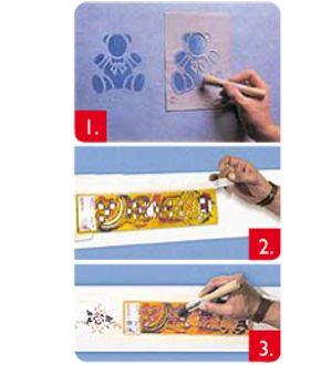 Pasos para colocar stencil
