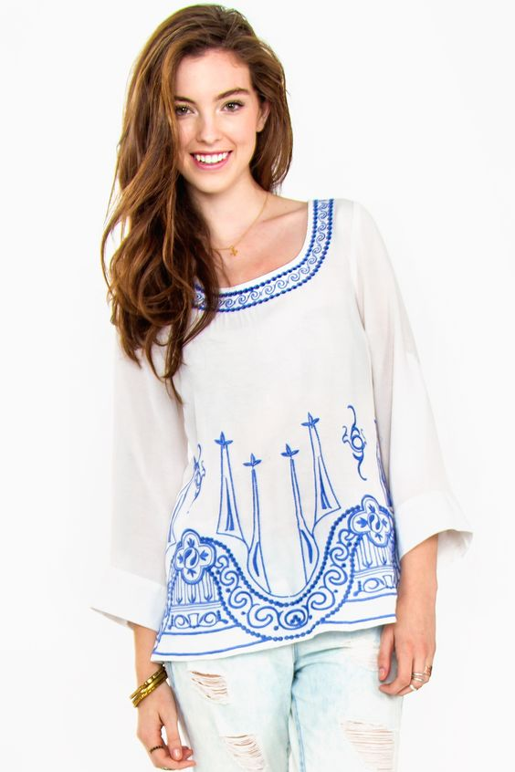 Arris Fashion - Peace and Serenity Top, $45.00 (http://www.arrisfashion.com/peace-and-serenity-top/)
