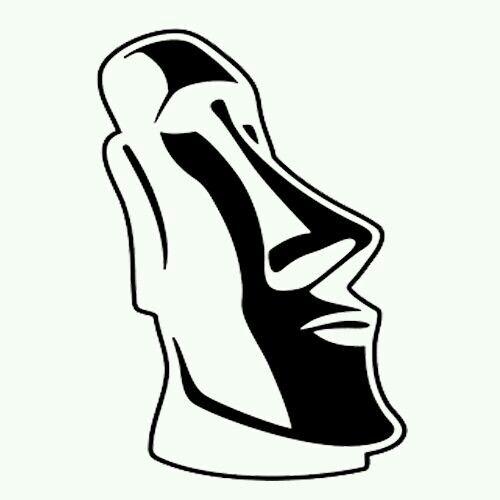 Pin De Adi Feldman En Maoi Statues Dibujos Tribales