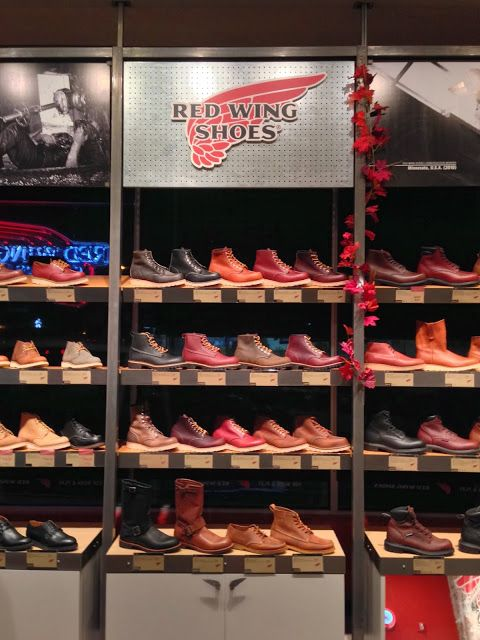 Red Wing Shoes. Repping those MN native businesses!