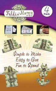 folded money telephone, cake etc