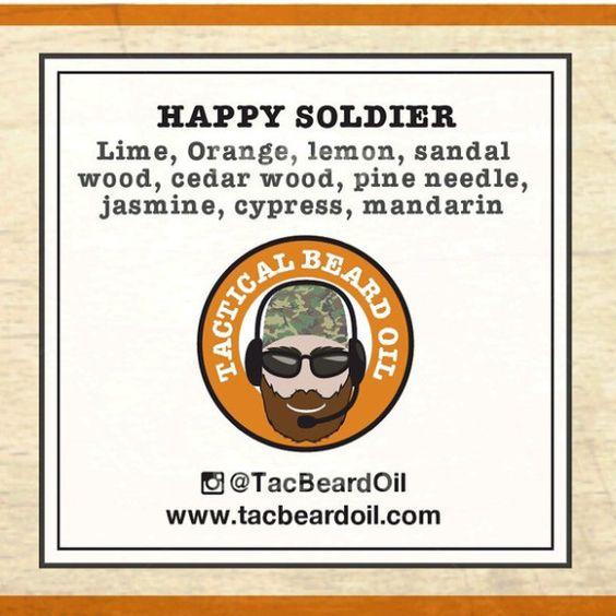 Tactical beards Happy Soldier