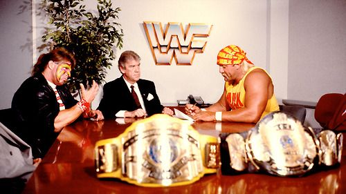 Hogan Warrior Contract Signing