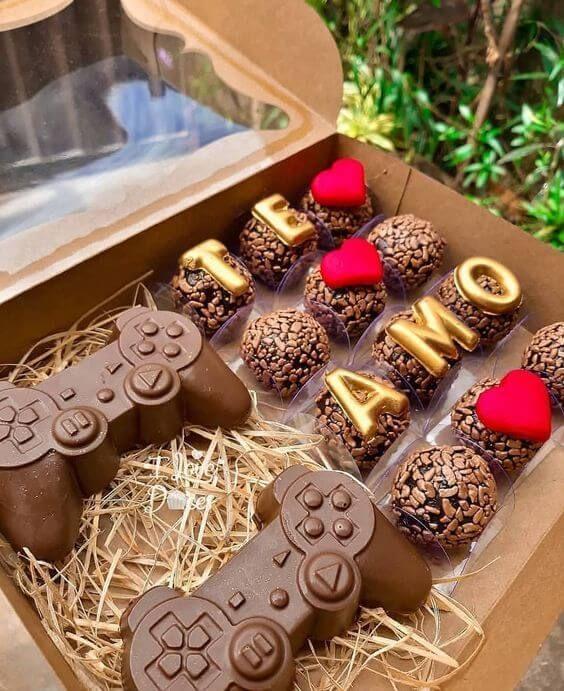 Caixa de chocolates, uma das principais ideias para dia dos namorados