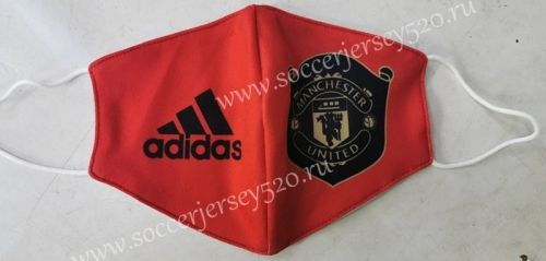 Manchester United Red Face Mask Protect Anti Dust Mouth Cover Mask Dustproof Anti Bacterial Washable Reusable Addida Fabric Masks Tools In 2020 Red Face Face Mask Mask