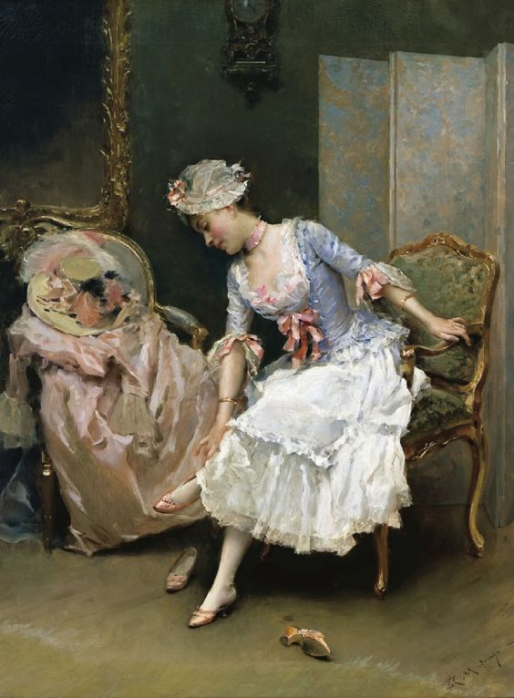 Raimundo de Madrazo y Garretta Her New Shoes