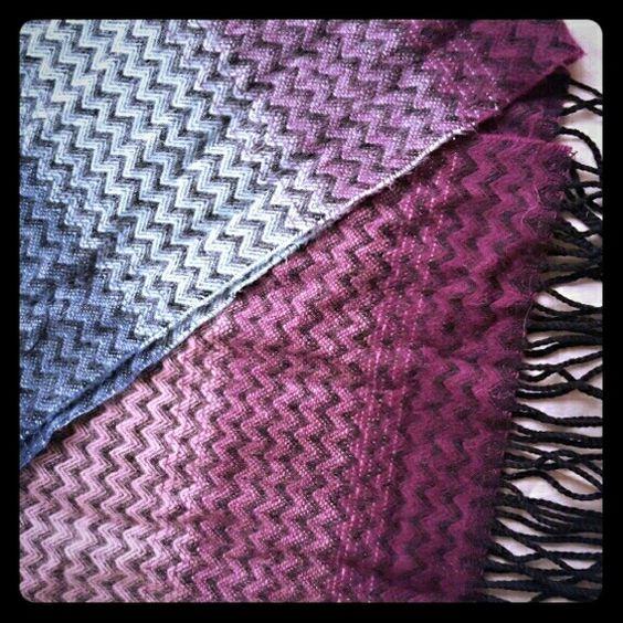 Chevron scarf Multi color chevron scarf Accessories Scarves & Wraps