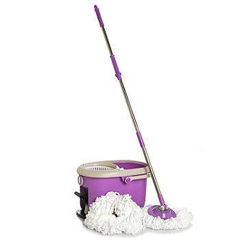 Spin Mop With Built-in Soap Dispenser
