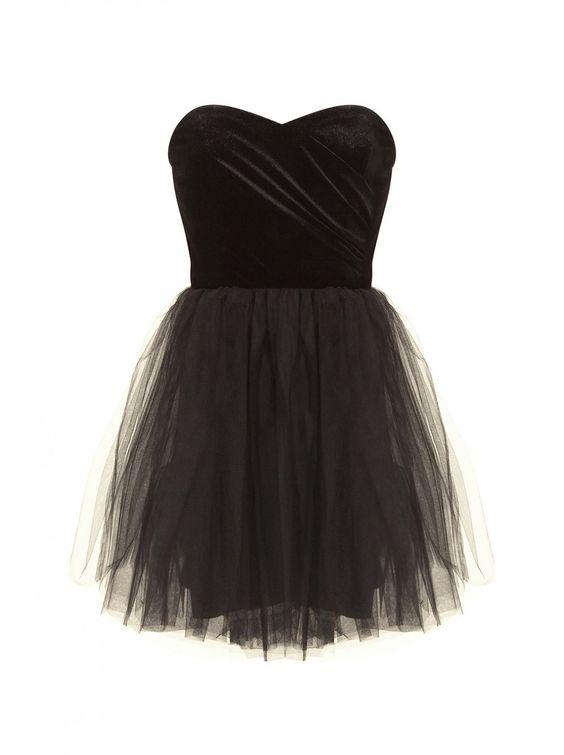 robe bustier velours et tutu noir robes femme naf naf shopping wishes pinterest tutus. Black Bedroom Furniture Sets. Home Design Ideas