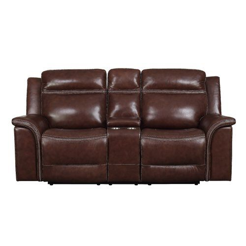 Ruvalcaba Leather Reclining Loveseat Love Seat Leather Reclining Loveseat Recliner