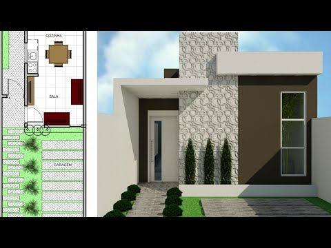 15 Fachadas de casas youtube