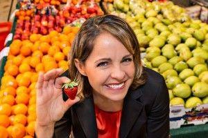 Corporate Wellness expert and speaker Andrea Holwegner, the chocoholic dietritian