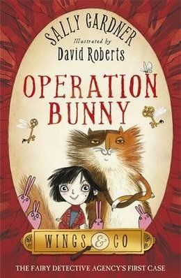 Operation Bunny by Sally Gardner, illustrated by David Roberts - a quirky story packed with magic, humour and imagination
