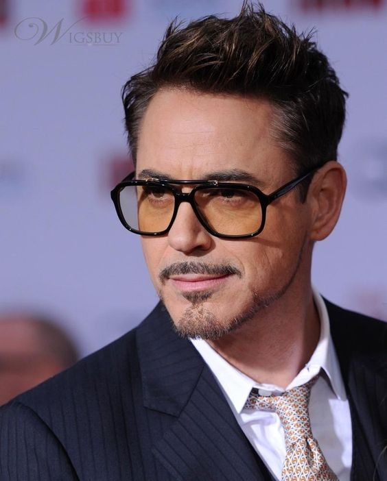 rock n roll hairstyles : robert downey jr iron man haircut - Google Search Robert Downey Jr ...