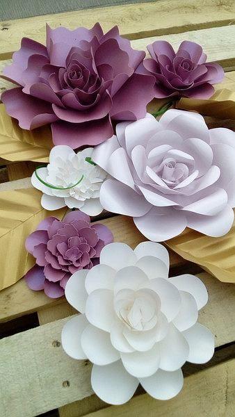 Duze Kwiaty Z Papieru Chanel Autor W Domowym Zaciszu Paper Flowers Diy Large Paper Flowers Paper Flowers