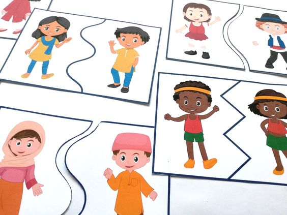 a világ gyermekei puzzle