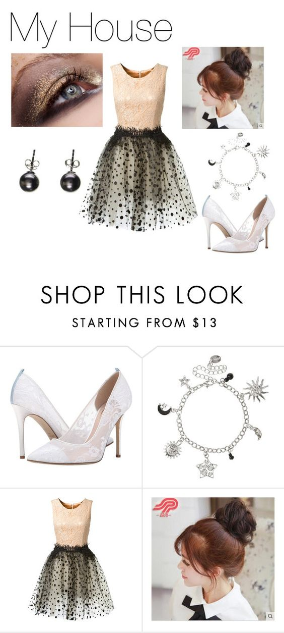 """""""2PM"""" by bad-blackjack ❤ liked on Polyvore featuring moda, SJP, Loyd/Ford ve Pin Show"""