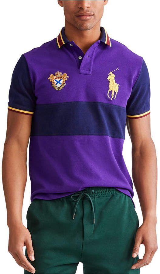 Polo Ralph Lauren Men Big Pony Mesh Polo Shirt | Polo ralph lauren ...