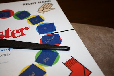 A Sight Word game - they'll love this! Would be good for number facts, too.