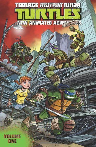 Teenage Mutant Ninja Turtles: New Animated Adventures Volume 1 by Kenny Byerly http://www.amazon.com/dp/1613778562/ref=cm_sw_r_pi_dp_CpgNtb0PWDB90SSM