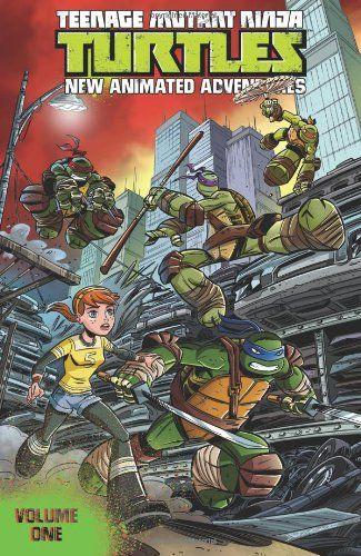 Teenage Mutant Ninja Turtles: New Animated Adventures Volume 1 by Kenny Byerly http://www.amazon.com/dp/1613778562/ref=cm_sw_r_pi_dp_CpgNtb0PWDB90SSM