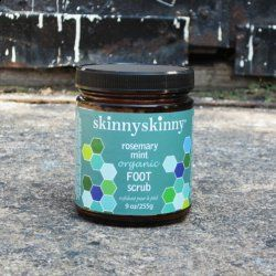 Think of this organic foot scrub as a love letter to your tired, over-worked and under-appreciated feet.