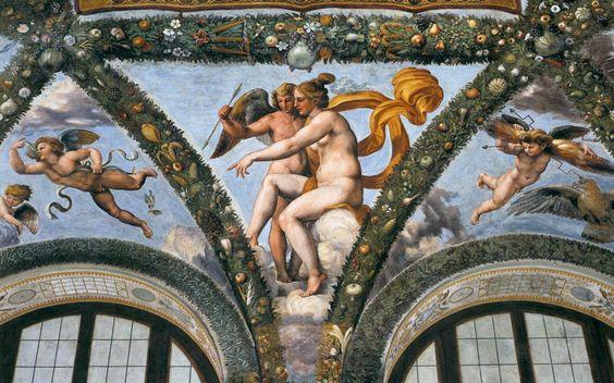 Venus y Cupido, de Raffaello Sanzio