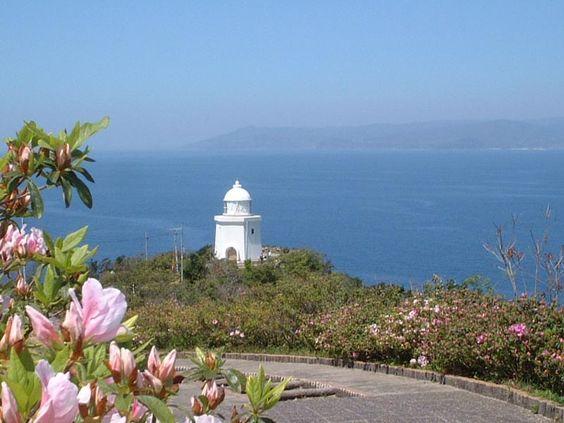 Lighthouse on Ioujima, Nagasaki City Nagasaki City