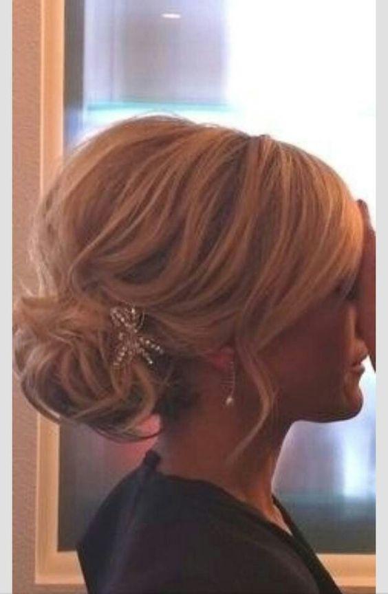 Bridesmaid hair  peinados de novia