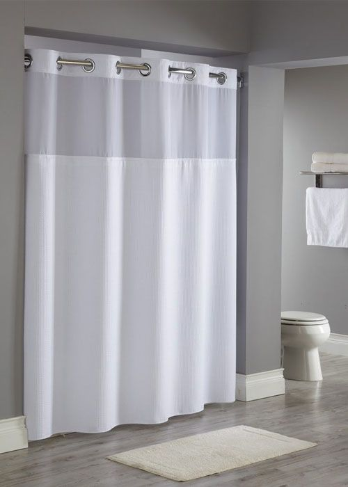 Reflection Hookless Shower Curtain A Luxurious Spa Like Style