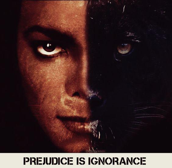 prejudice is ignorance by TeliBabbyJackson.deviantart.com on @deviantART