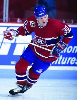 Chris Nilan (Canadiens de Montréal)