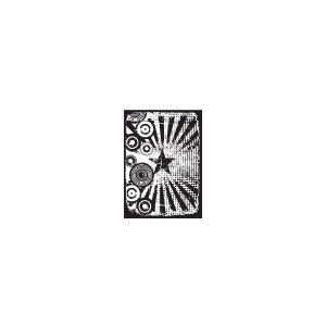 Stampers Anonymous Tim Holtz Components Cling Mounted Stamp: Retro Carnival