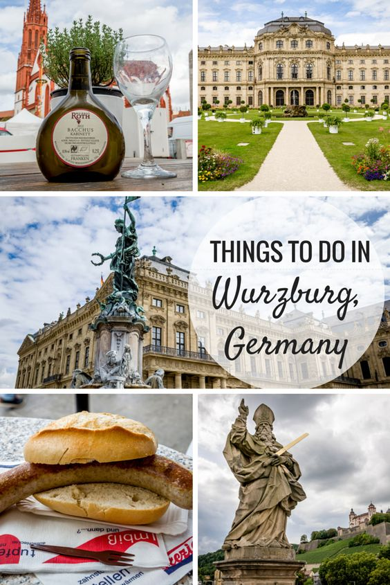 Things to Do in Wurzburg, Germany | Wine, Things to do and The fortress