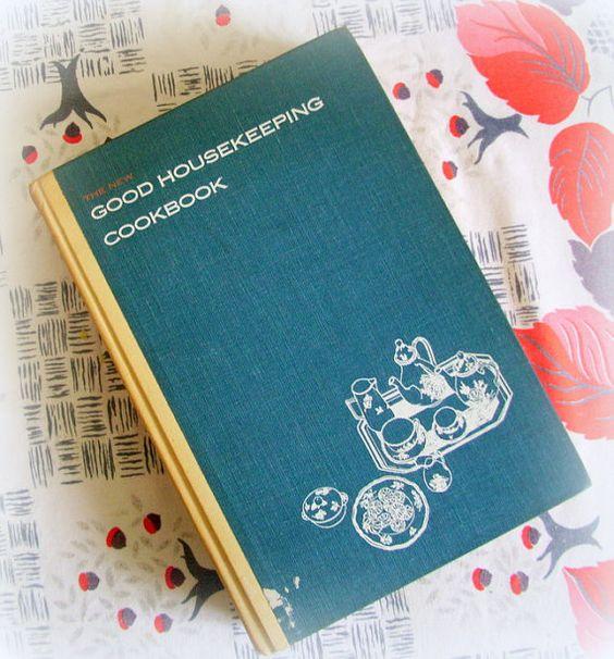 Vintage 1963 Good Housekeeping Cookbook by merrilyverilyvintage