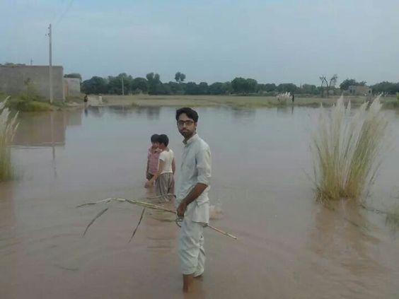 Pakistan ..... flooded area... near to my city....