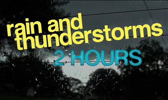 Rain And Thunderstorm 2 Hours Relax And Fall Asleep Hd 1080p Thunderstorms Rain And Thunderstorms How To Fall Asleep