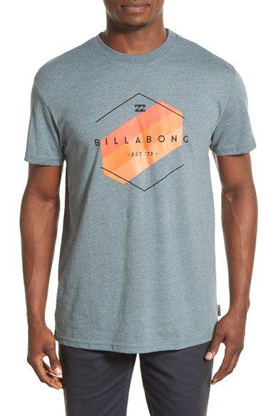 Billabong 'Obstacle' Graphic Crewneck T-Shirt | Moda Masculina