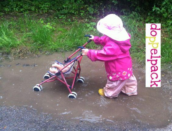 Regenhut statt nerviger Kapuze. Für Waldkindergarten und Pfützenhüpfer. Nähen, beschichtete Baumwolle, Kind, Nähanleitung
