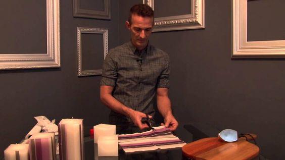 Marcelo Darghan ensina a customizar e decorar velas