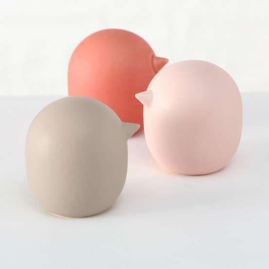 Figurine Aurelio Oiseau H 9 Cm 3 Modeles Disponibles Pots En Ceramique Palmier Interieur Et Objet Decoration